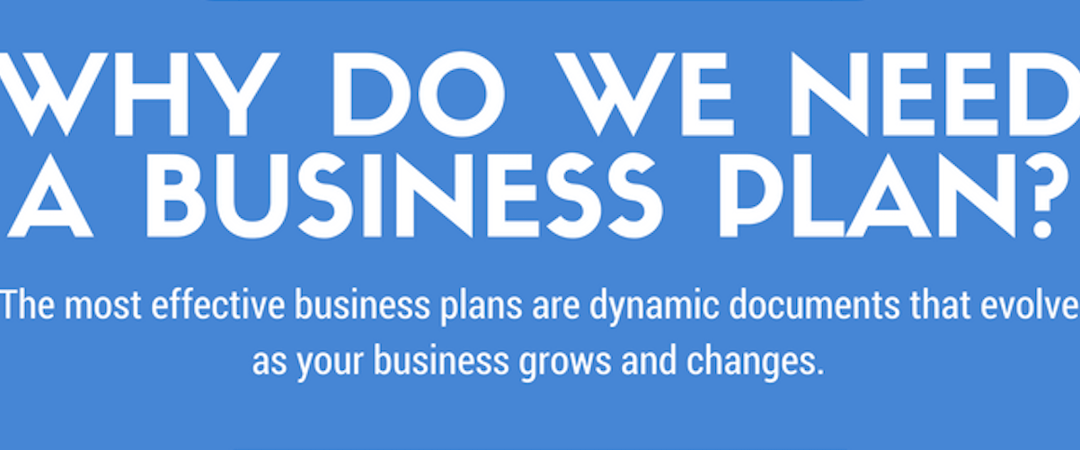 Why Do We Need A Business Plan? [Infographic]